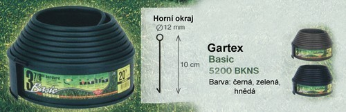 Trávníková lemovka GARTEX LINE - H