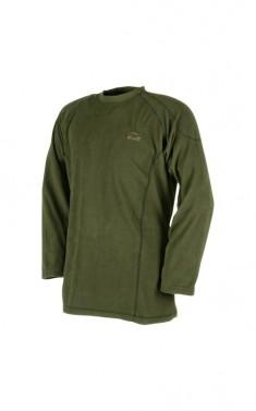 Teplé tričko s dlouhým rukávem - RAVEN - khaki, vel. S