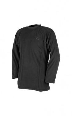 Teplé tričko s dlouhým rukávem - RAVEN - černé, vel. M