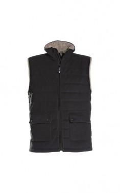 Zimní fleecová vesta THORDEN - černá