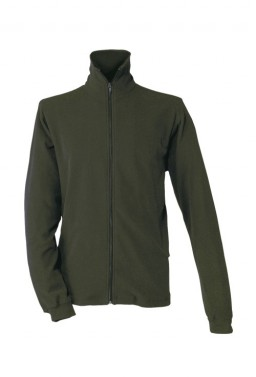 Microfleesová bunda - TURA - khaki