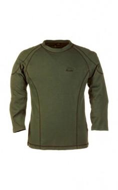 Funkční tričko s dlouhým rukávem - TRAFALGAR - khaki, vel. S