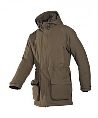Lovecká zimní bunda ROSCOE - hnědá, vel. L
