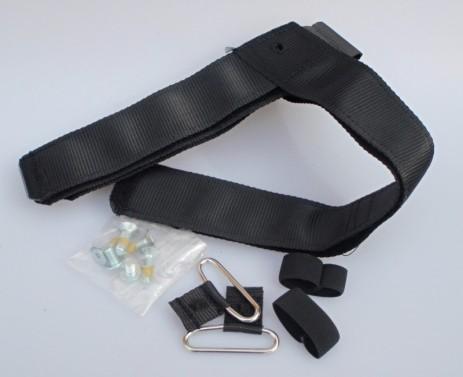 DISTEL Alu/Carbon - spodní velcro pásek