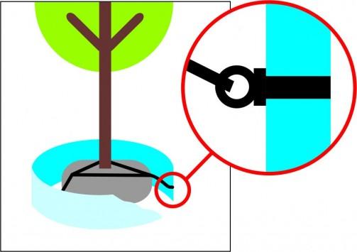 Kotvení stromů KOTVOS KSB-S2 - set